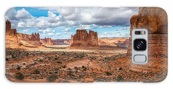 Courthouse Towers At Arches National Park Galaxy Case