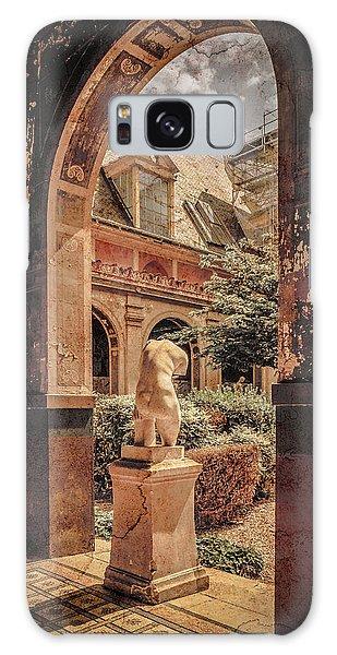 Paris, France - Courtyard East - L'ecole Des Beaux-arts Galaxy Case