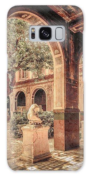 Paris, France - Courtyard West - L'ecole Des Beaux-arts Galaxy Case