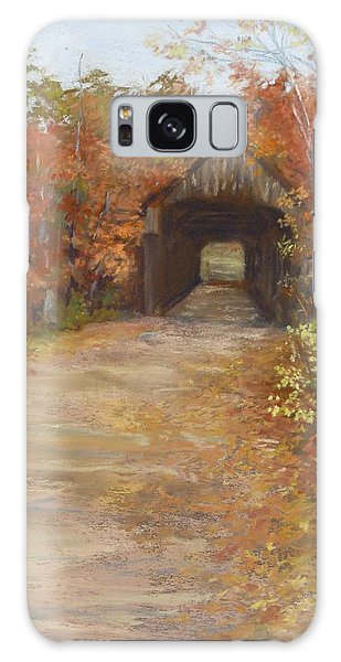 Covered Bridge  Southern Nh Galaxy Case by Jack Skinner