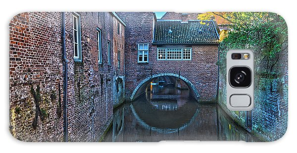 Covered Canal In Den Bosch Galaxy Case by Frans Blok