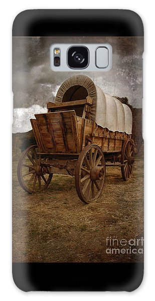 Covered Wagon 1 Galaxy Case