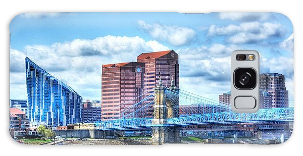Covington Kentucky Skyline Galaxy Case