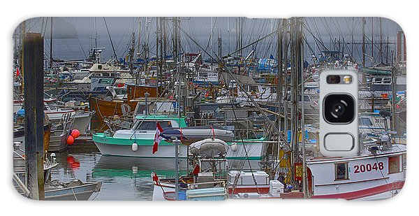 Cow Bay Commercial Fishing Boats Galaxy Case