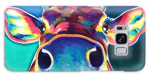 Cow - Fawn Galaxy Case