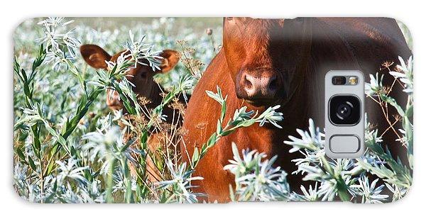 Cow Hide Galaxy Case