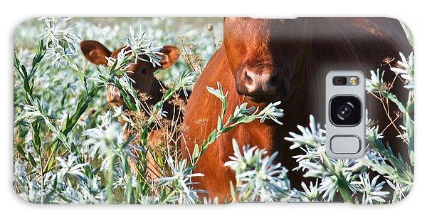 Cow Hide Galaxy Case by Mark Alder