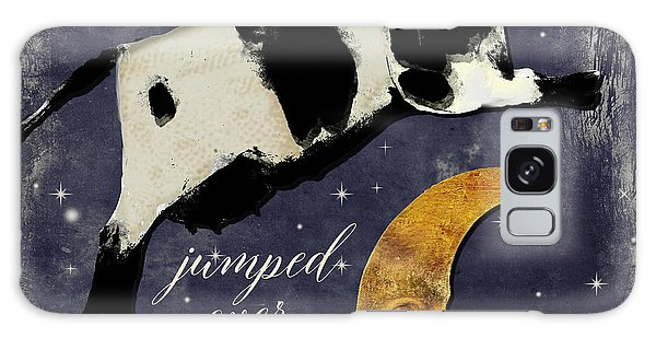 Cow Galaxy Case - Cow Jumped Over The Moon by Mindy Sommers