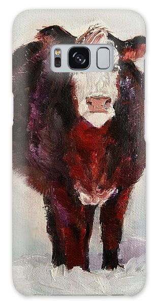 Cow Painting  Galaxy Case by Michele Carter