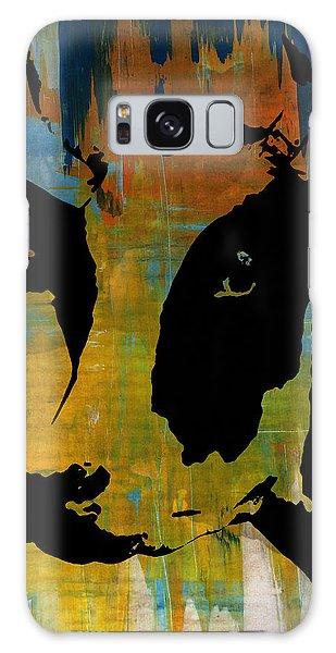 Cow Sunset Rainbow 2 - Poster Print Galaxy Case