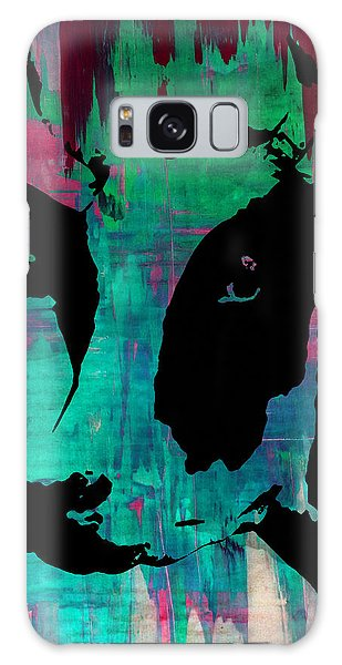 Cow Sunset Rainbow - Poster Print Galaxy Case