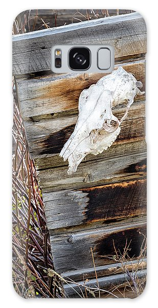 Cowboy Cabin Adornment Galaxy Case