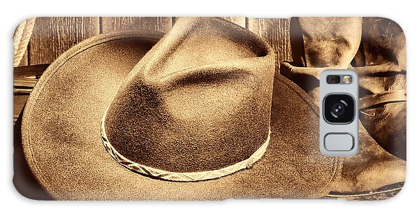 Cowboy Hat On Floor Galaxy Case