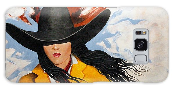 Cowgirl Colors #3 Galaxy Case by Lance Headlee