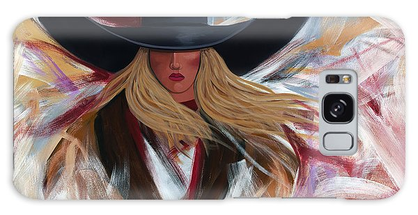 Cowgirl Colors Galaxy Case by Lance Headlee