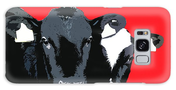 Cows - Red Galaxy Case