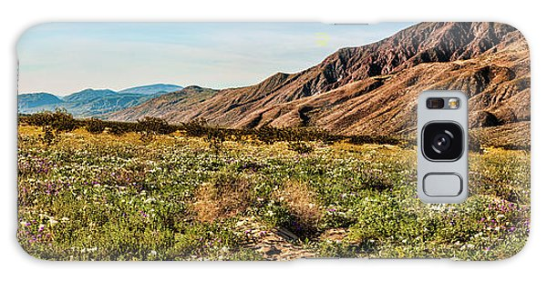 Coyote Canyon Meadow View Galaxy Case