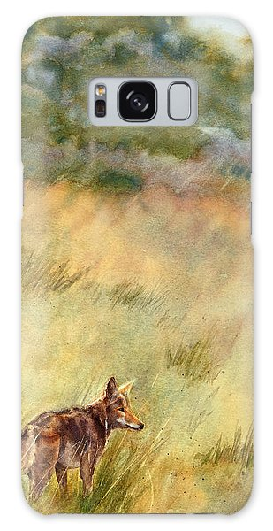 Coyote Santa Rosa Plateau Galaxy Case by Bonnie Rinier