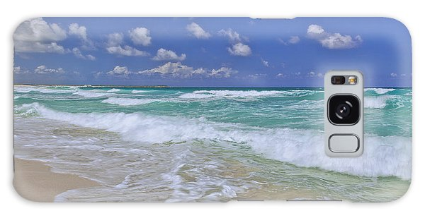 Cozumel Paradise Galaxy Case by Chad Dutson