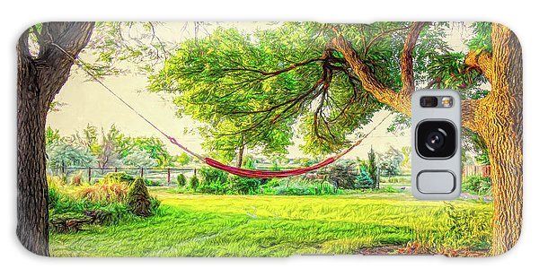 Galaxy Case featuring the photograph Cozy Lazy Afternoon by James BO Insogna