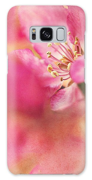 Crab Apple Blossoms II Galaxy Case