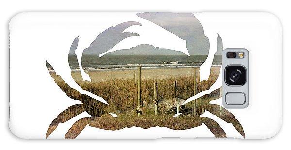 Crab Beach Galaxy Case