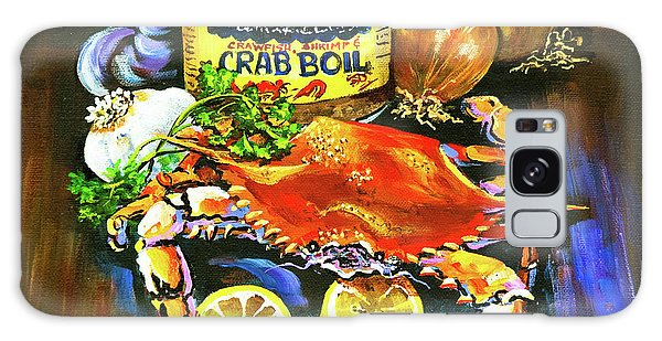 Food Galaxy Case - Crab Fixin's by Dianne Parks
