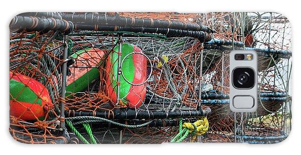 Crab Pots Galaxy Case