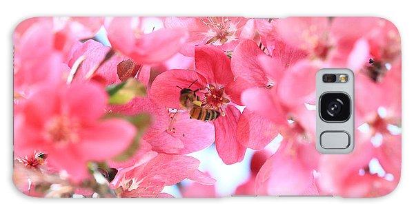 Crabapple Bees 2 Galaxy Case