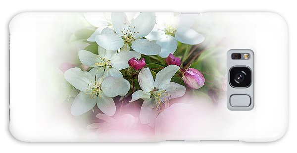 Crabapple Blossoms 3 - Galaxy Case