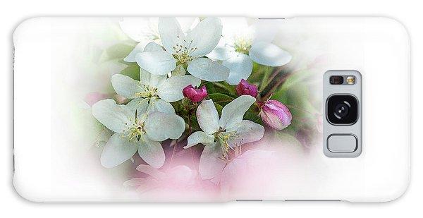 Crabapple Blossoms 3 - Galaxy Case