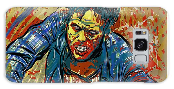 Galaxy Case featuring the digital art Crabby Joe by Antonio Romero