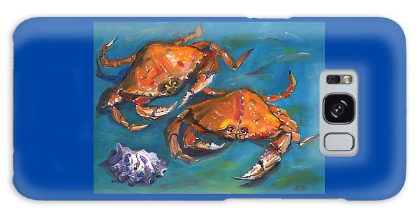 Crabs Galaxy Case by Susan Thomas