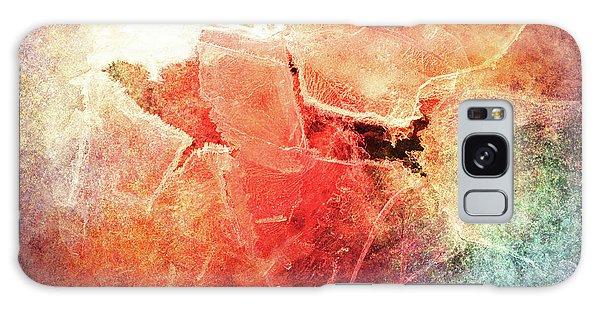 Cracks Of Colors Galaxy Case