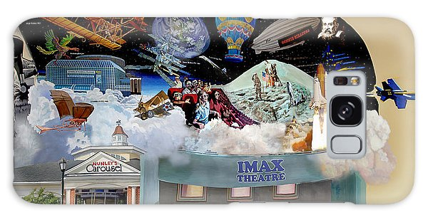 Cradle Of Aviation Museum Imax Theatre Galaxy Case by Bonnie Siracusa