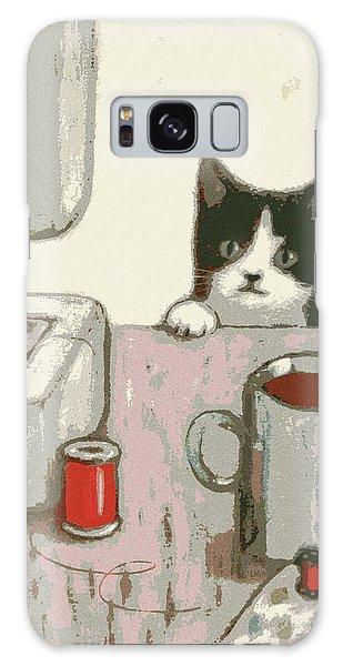 Crafty Cat #2 Galaxy Case