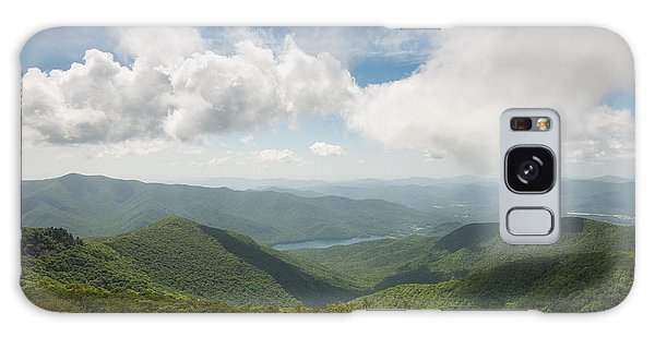 Craggy Pinnacle Blue Ridge Parkway Mountain View Galaxy Case