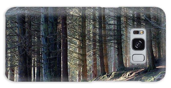 Craig Dunain - Forest In Winter Light Galaxy Case