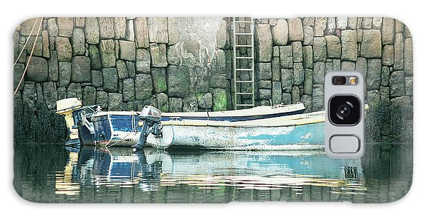 Crail Harbour Galaxy Case
