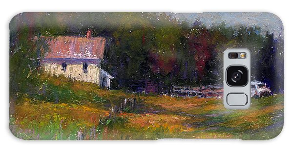 Crammond Farm Galaxy Case by Susan Williamson