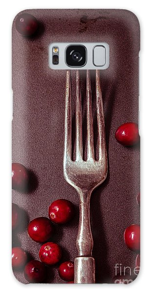 Cranberries And Fork Galaxy Case