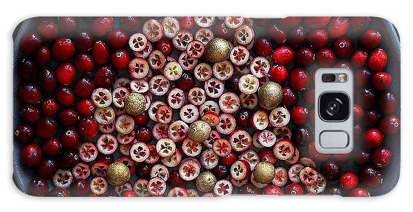 Cranberry Christmas Tree Galaxy Case