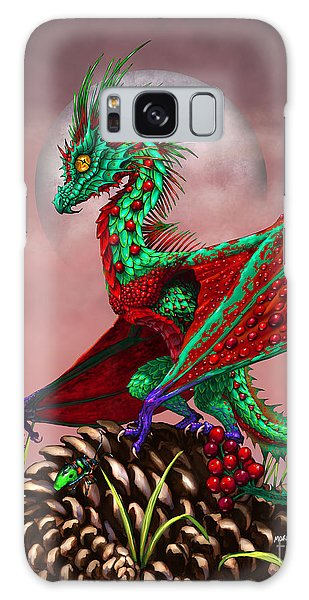 Cranberry Dragon Galaxy Case