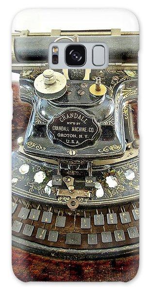 Crandall Type Writer 1893 Galaxy Case
