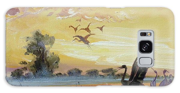 Cranes - Evening Flight Galaxy Case