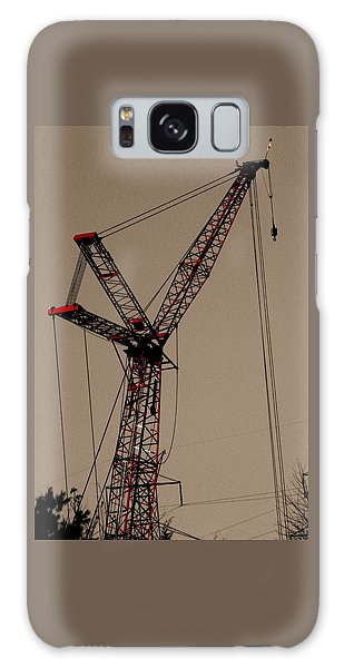 Crane's Up Galaxy Case