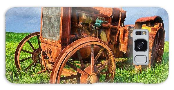 Crank And Plow II Galaxy Case by Dan Carmichael