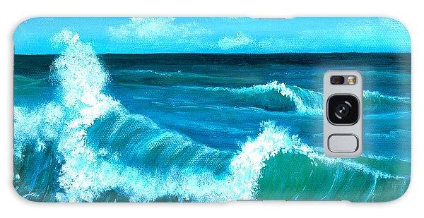 Crashing Wave Galaxy Case by Anastasiya Malakhova
