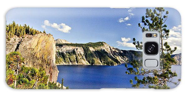 Crater Lake II Galaxy Case by Albert Seger