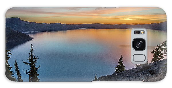 Crater Lake Morning No. 1 Galaxy Case